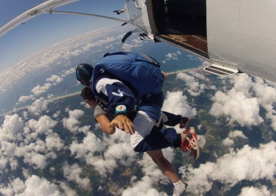 tandem chute libre