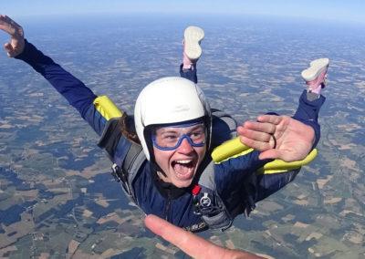 saut en parachute chloe