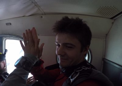dans l'avion - élève pac yoan